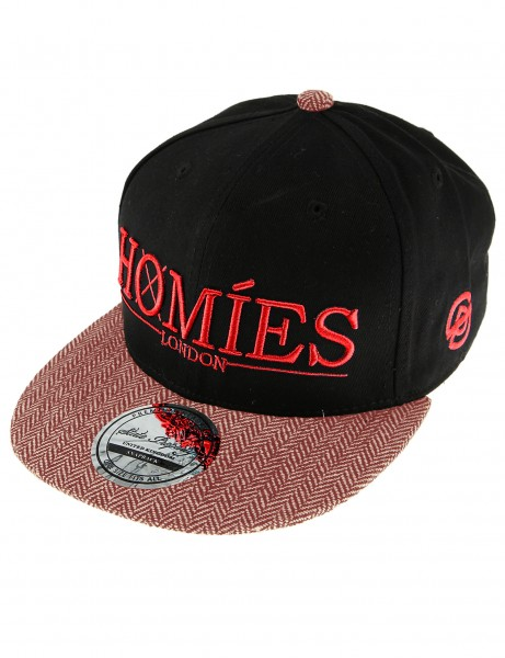 State Property Homies London Cap Black Red