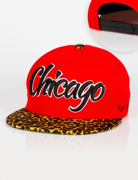 Chicago Leo Snapback Red