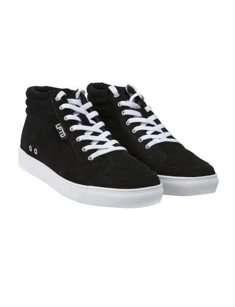 Lifted Sean Suede High Top Sneaker Black