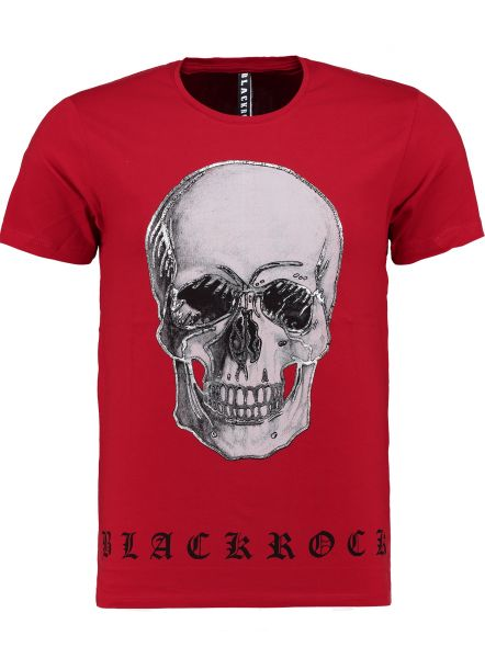 Blackrock Men T-Shirt 19803 Red