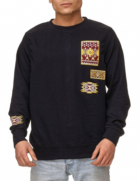 Soul Star MSW-Emlett Sweater Navy