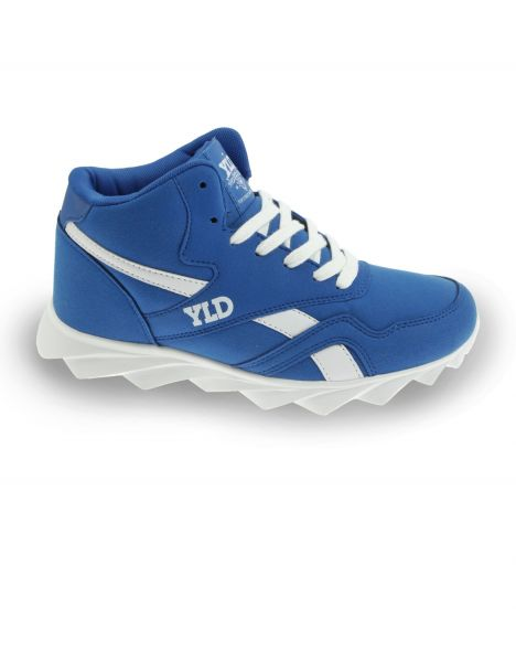 YLD YD-100 Blank High Top Sneaker Blue White