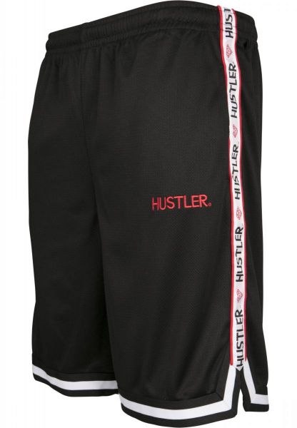 Merchcode Hustler Mesh Shorts MC243-00007 Black