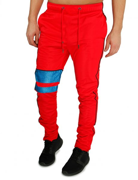 Imperious Track Pants W Print FP733 Red