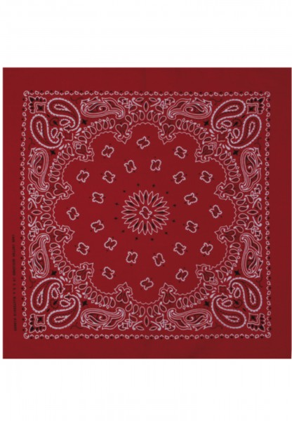 MSTRDS Bandana red 10000-00199 Red