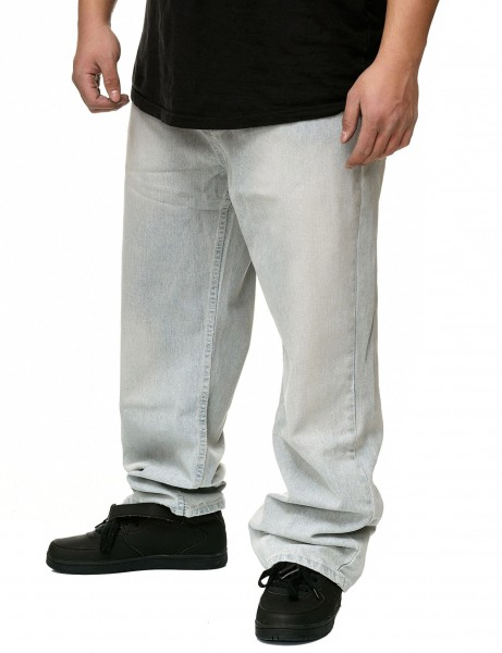 YLD Baggy Fit Jeans YLD310D White Indigo