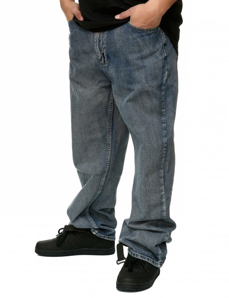 Townz Baggy Fit Jeans TZ508D Washed Grey