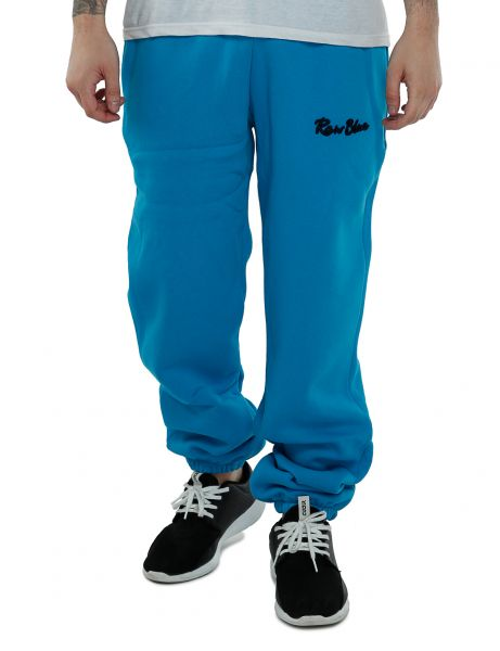 Raw Blue - Signature Basic Zipper Pants Aqua