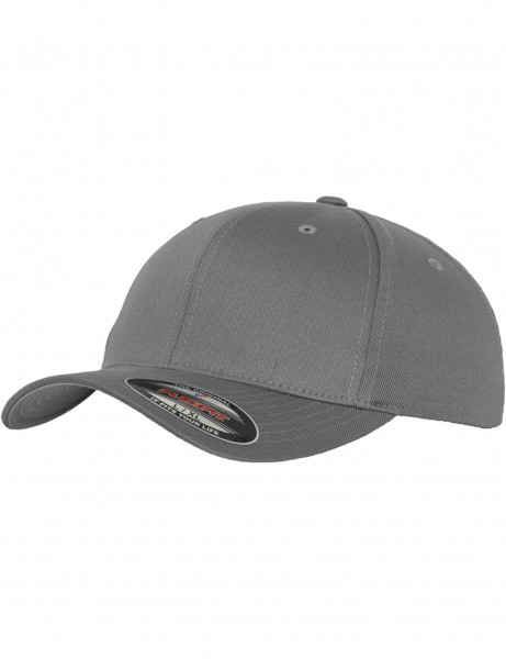 FLEXFIT WOOLY COMBED CAPS 6277 grey