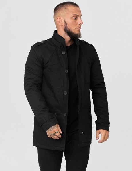 No Name 0154 Winter Parker Jacket Black