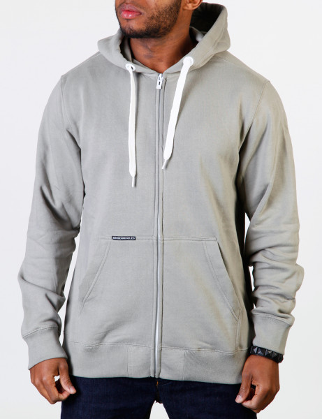 Sir Benni Miles Core Zip Fleece Hoody SBMF11-33090 slate