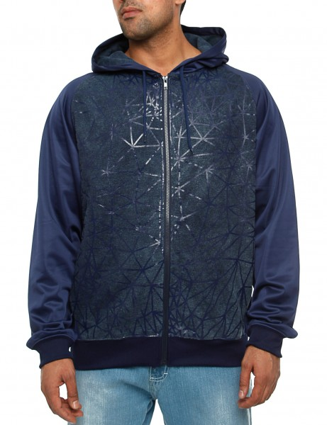 Royal Blue Zip Hoody 97019H Indigo Blue