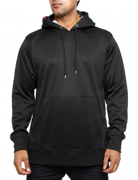 Royal Blue Spaced Out Hoody T7HD1025 Black