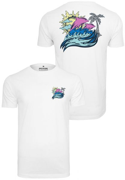 Pink Dolphin Roll Tide Tee PD015-00220 White