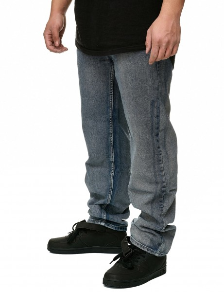 YLD Loose Fit Jeans YLD408D Washed Grey