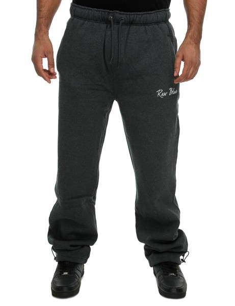 Raw Blue Premium Herren Hosen Jogginghose RB6-FP802_D.Grey Trainingshose Jogger
