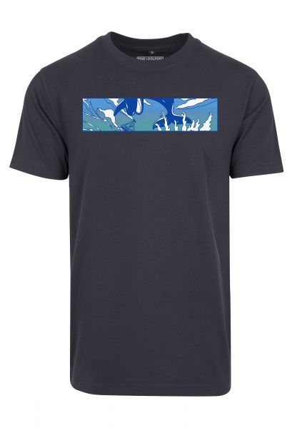 Pink Dolphin Letterbox Tee PD014-00155 Navy