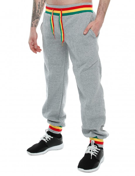 Korex Rasta Stripes Sweatpant K-684 Grey