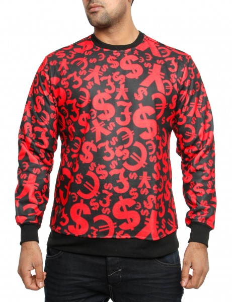 Imperious Money Tree Sweatshirt CS534 Red