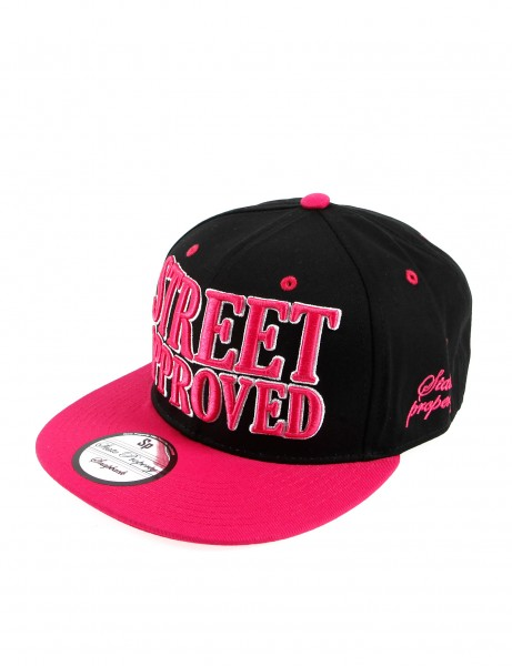 State Property Herren Caps Street Approved_Pink/White Kappe Mütze Basecap Cappy
