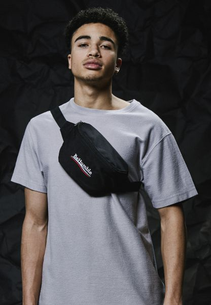 Turn Up Humble Waist Bag TU032-00007 Black