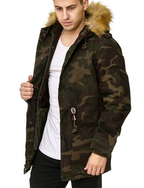 Jeel Jeans AM-711 Winterjacket Camo
