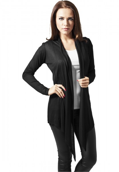 Ladies Viscose Cardigan TB1214 Black