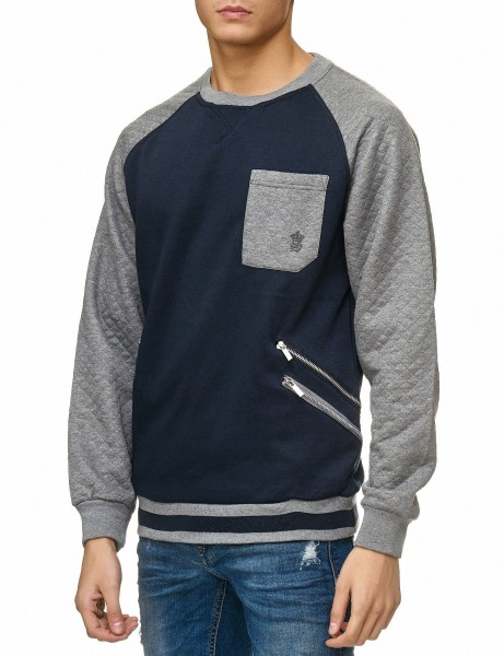Soul Star MSW Marston Sweater Navy