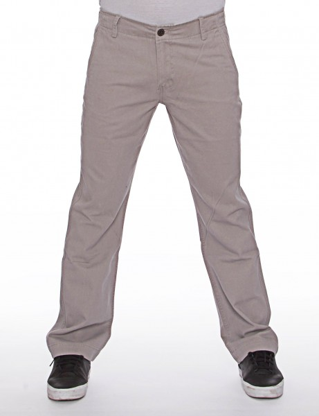 Royal Blue Basic Slim Straight Fit Chino Pant Grey