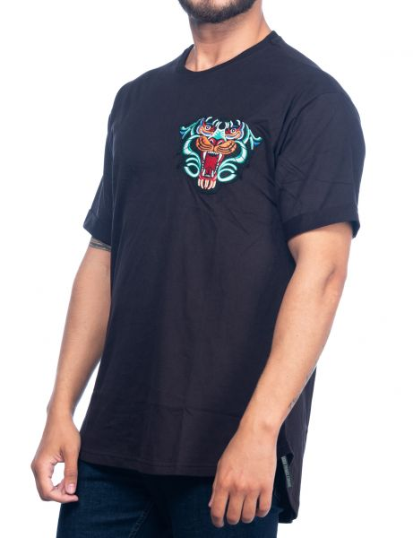 Catch men t-shirt Y-266 Black