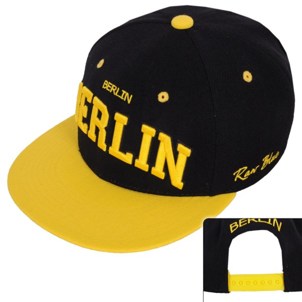 RB Berlin Snapback Black
