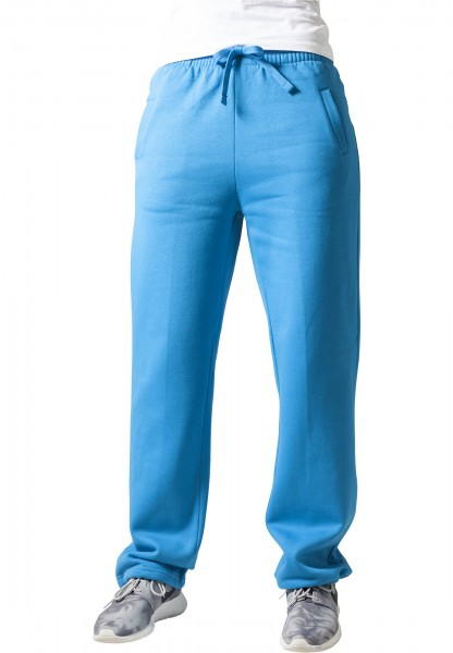 Urban Ladies Herren Hosen Loose-Fit Sweatpants turquoise Trainingshose Jogger