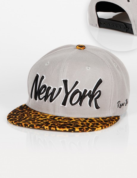 New York Leo Snapback Grey