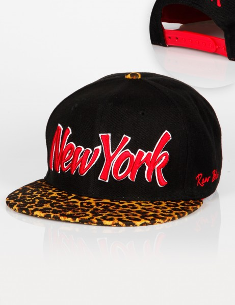 New York Leo Snapback Black