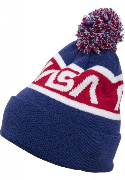 Mister Tee NASA Beanie Knitted MT819-01500 Blue