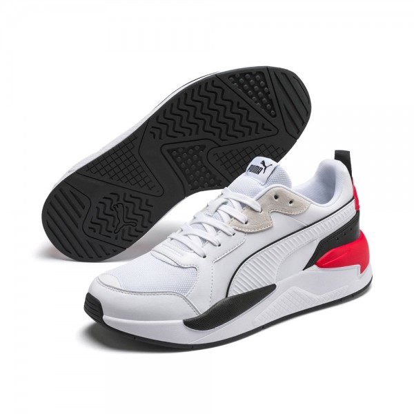 Puma X-Ray Game Mens Sneaker 372849-01 white black red