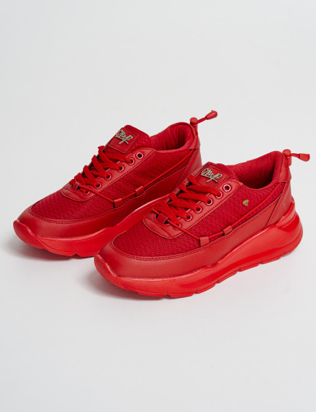 Cash Money Trainers CMS-176 Full Red
