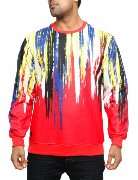 Imperious Brush Sweatshirt CS555 Red