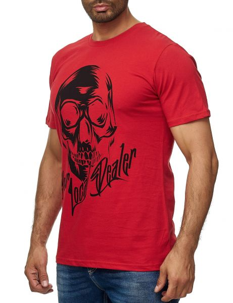 YLD HOLLOW HEAD T-Shirt YLD-4108 Red