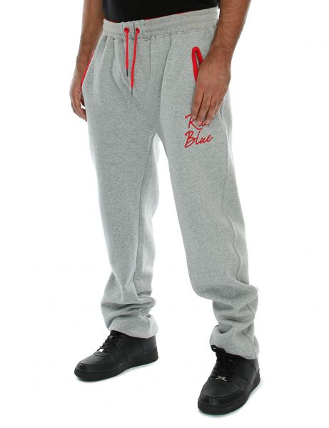 Raw Blue Sweatpant RB6-SP-002 Grey Red