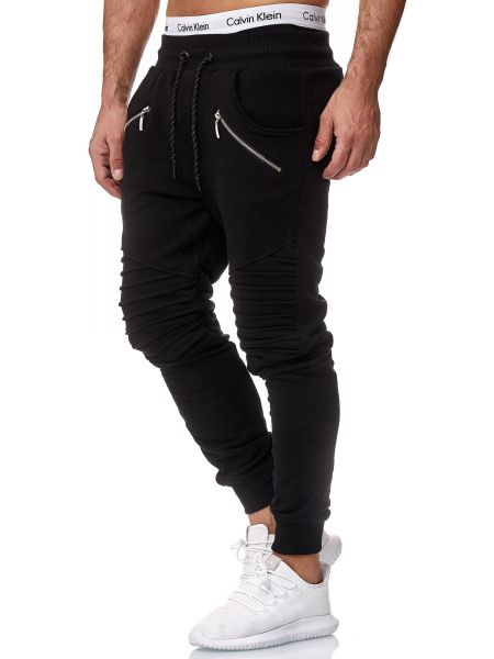 Redox Mens Sweatpants 1315C Black Black