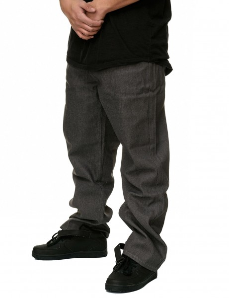 YLD Baggy Fit Jeans YLD306D Raw Grey