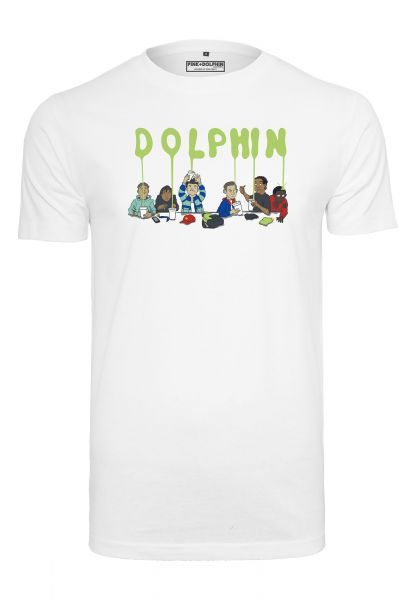 Pink Dolphin Supper Tee PD010-00220 White