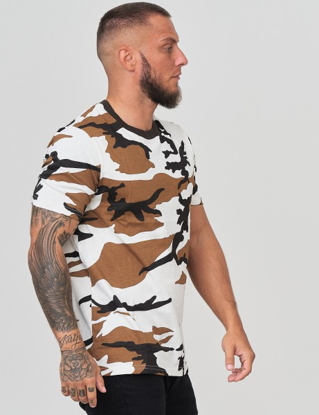 French Fashion Y-361 Mens Camo T-Shirt Camouflage