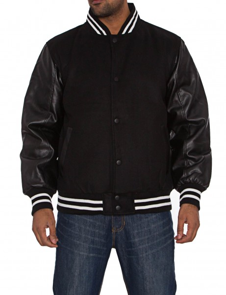 SK-5 College Jacket Black