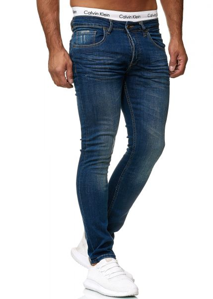 Redox Mens Jeans 600JS_608 Heavy Blue Used