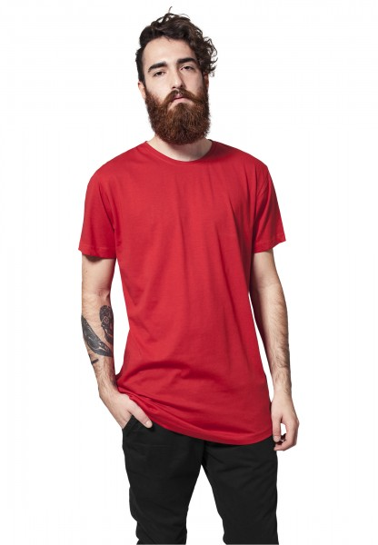 Urban Classics Shaped Long Tee TB638 Red