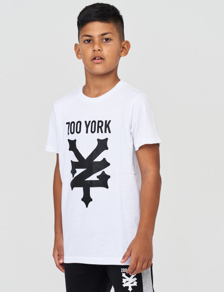 Zoo York ZSK90514 Kids Ramped T-shirt Optic White