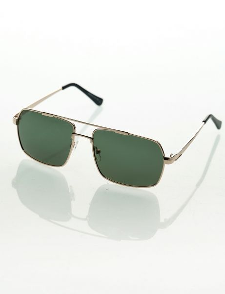 Topstreetwear Sunglasses 033 16F Gold Black Gold