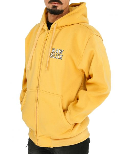 Raw Blue Basic Hoody EF-3200 Yellow